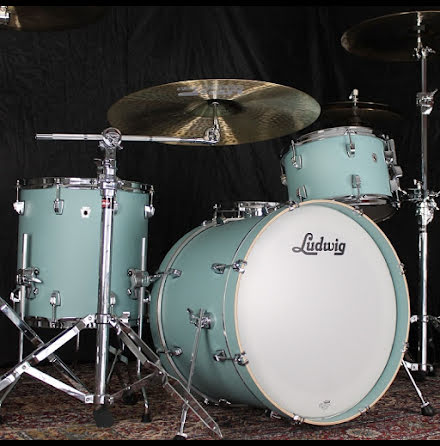 "Ludwig NeuSonic 20""-set - Skyline Blue - USA-TILLVERKADE!!"