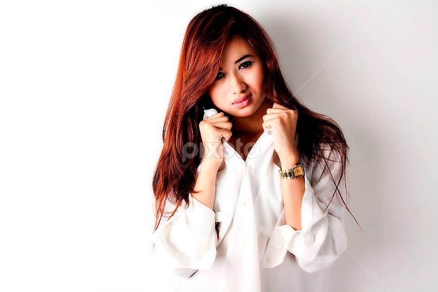 :: White :: by Putra Sanubari - People Portraits of Women