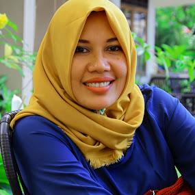Senyum Manisku by Rizal Marsa - People Portraits of Women (  )