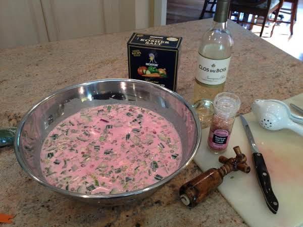 Summer Beet Borscht (cold Soup) Recipe