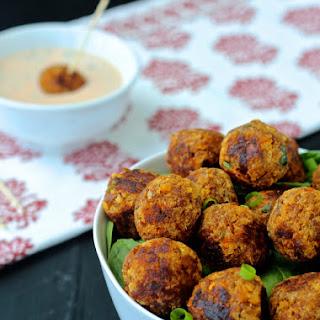 Spicy Thai Chili Tuna Meatballs.