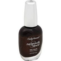 Sally Hansen Nailgrowth Miracle Nail Color Forbidden Fudge 380