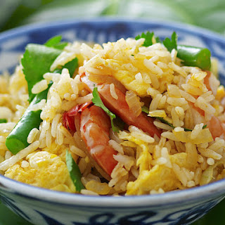 Red Curry Fried Rice.