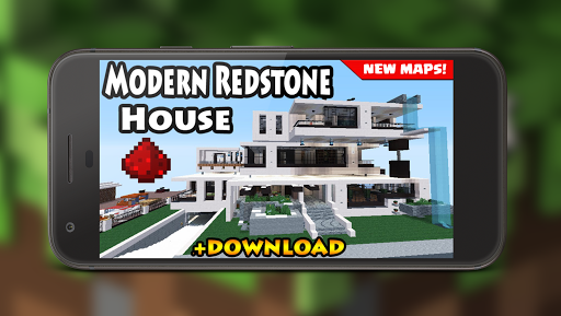 Download Redstone modern house MAP for MCPE on PC & Mac with AppKiwi