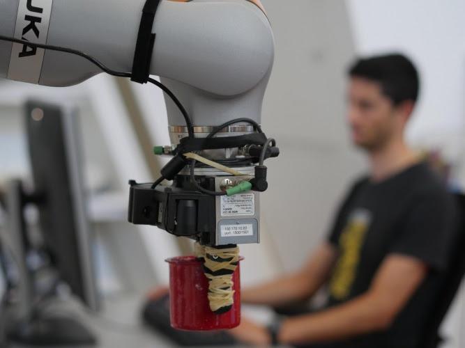 Система машинного зрения помогает роботам