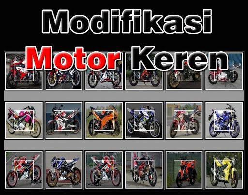 Best Modification Motorcycles
