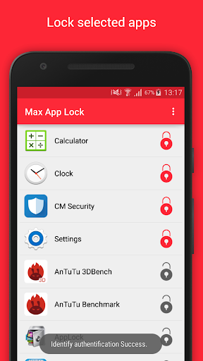 Max App Lock with Fingerprint screenshot 1