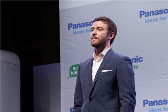 Photo: Justin Timberlake at Panasonic's event - Photo by James Martin