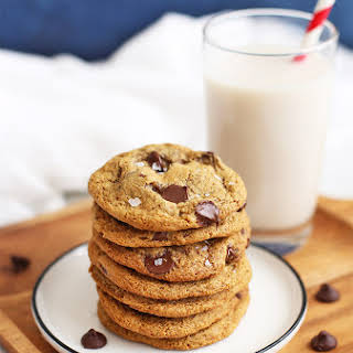 Almond Flour Chocolate Chip Cookies.