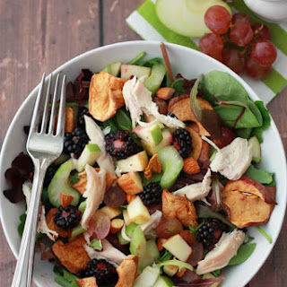 Apple Apple Chicken Salad with Cider Dressing Recipe
