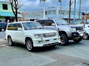 ランドクルーザー100  中期 Gセレクション uzj100のカスタム事例画像 いっちー@札幌市さんの2020年04月28日23:42の投稿