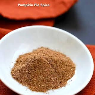 Pumpkin Pie Spice.