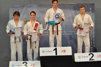 Photo: Dominik Storch 3. Platz Deutsche Ju-Jutsu-Meisterschaft im Fighting U21 -77 kg