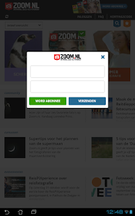 Zoom.nl- screenshot thumbnail