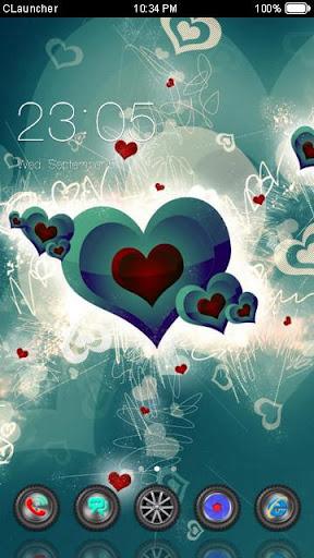 Best Heart Theme C Launcher