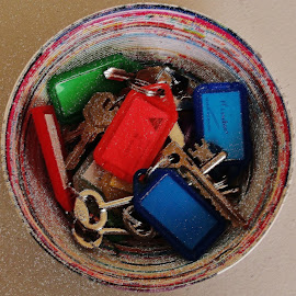 Keys by Sarah Harding - Novices Only Objects & Still Life ( keys, still life, novices only, object, close up,  )