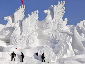 Photo: Snow Sculpture