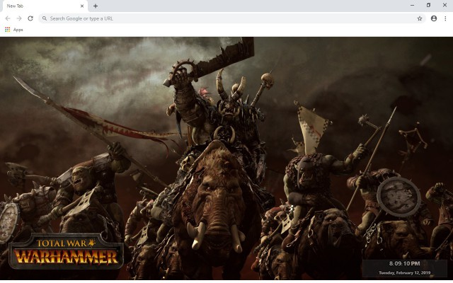 Warhammer New Tab & Wallpapers Collection