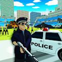 San Andreas Cop irritado 3D icon