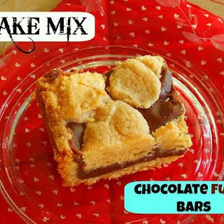 {Cake Mix} Fudgey Bars