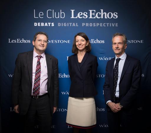 Club Les Echos Débats avec Laurence Boone et Philippe Martin - Wavestone
