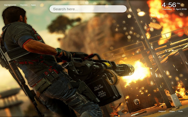 Just Cause 4 HD Wallpapers Themes