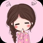 Kawaii Girl Lock Screen Icon