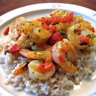 Shrimp and Bell Pepper Skillet