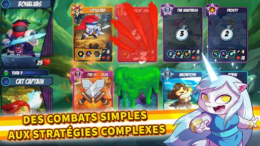 Code Triche Tap Cats: Epic Card Battle (CCG) APK MOD screenshots 1