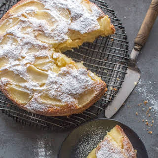 Easy Italian Pear Cake.