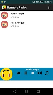 Beninese Radios- screenshot thumbnail