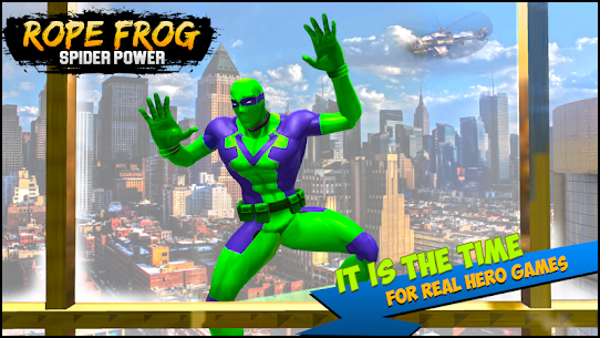 Rope Frog Spider Power : Gangster Crime Vice City – APK Mod Updated 1