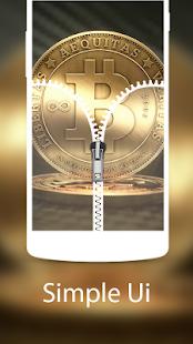Bitcoin ziplocker theme for BTC crypto lovers free - náhled