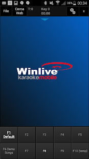 Winlive Mobile Karaoke- screenshot thumbnail