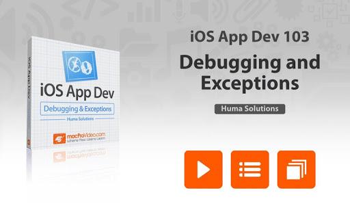 App Dev 103 Course For iOS