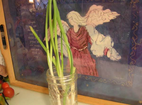 Don't Throw Out Those Green Onions - Dee Dee's Recipe