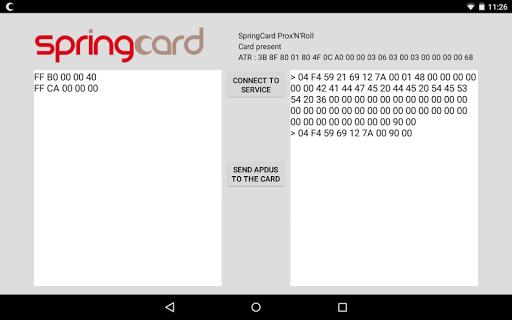 SpringCard USB PC SC Demo