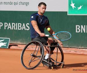 Joachim Gérard plaatst zich na knappe prestatie voor finale Australian Open in het rolstoeltennis