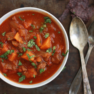 Slow Cooker Sweet Potato Chili Recipe