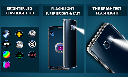 Brighter LED HD Flashlight App screenshot