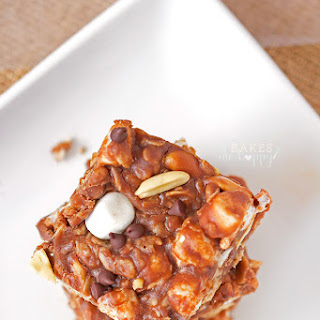 No Bake Rocky Road Squares.