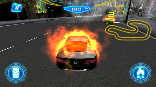 Fiery Asphalt Racing 1.0 screenshots 1