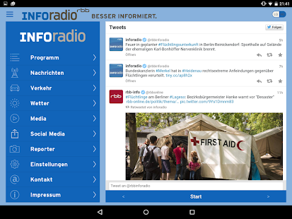 Inforadio- screenshot thumbnail