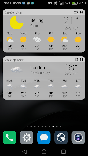 The Weather Widget Forecast  screenshots 1