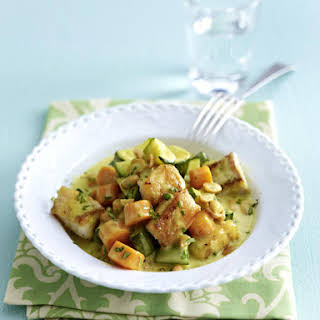 Thai Yellow Curry with Snapper.