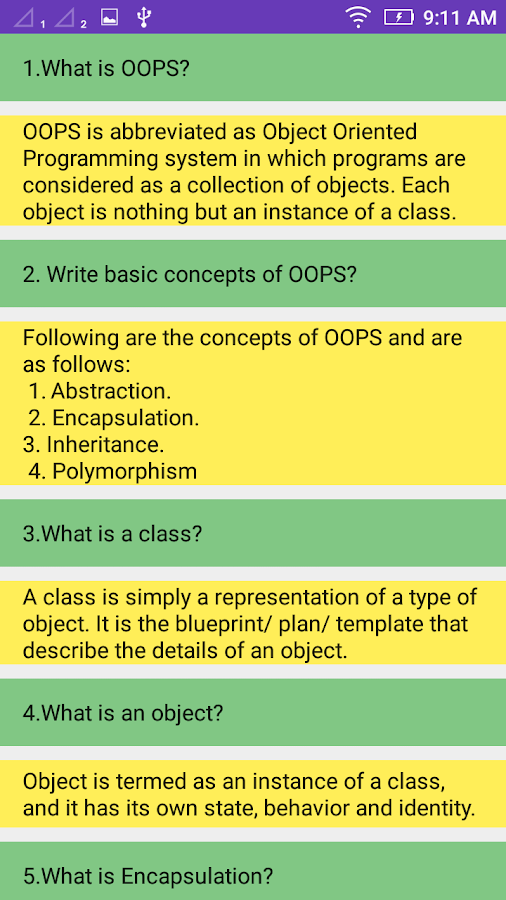 Object oriented programming systems android apps on google play object oriented programming systems screenshot malvernweather Image collections