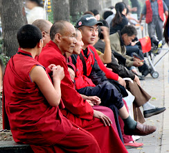 Photo: Day 190 -  Buddhist Monks