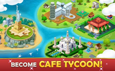 Cafe Tycoon MOD APK 4.3 [Unlimited Gems + Unlimited Coins] 5