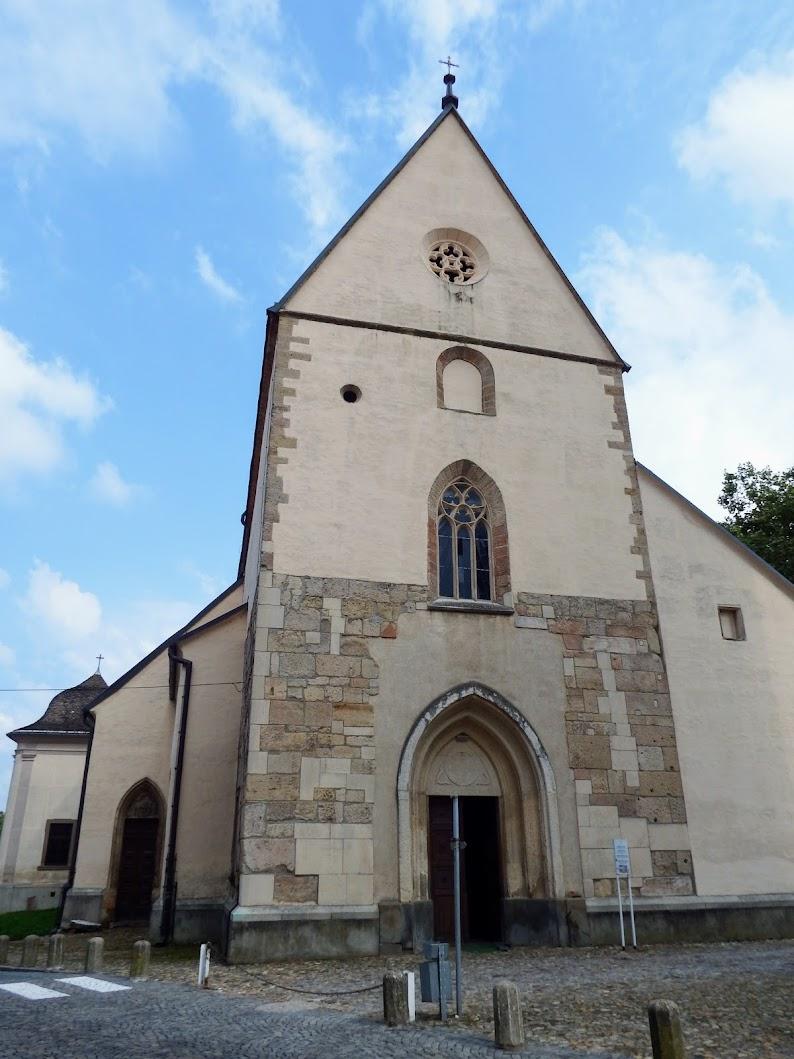 Ptuj - Proštijska cerkev sv. Jurija (Szent György prépostsági templom)