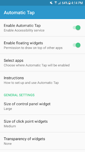 Automatic Tap - Auto Clicker/Tap Sequence Recorder 1.4.2 screenshots 3